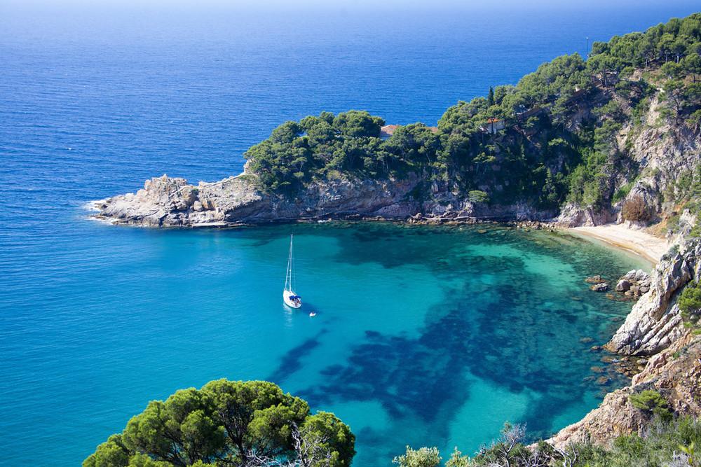Cala Futadera, Tossa de Mar, Girona, Cataluña, playas paradisiacas en España