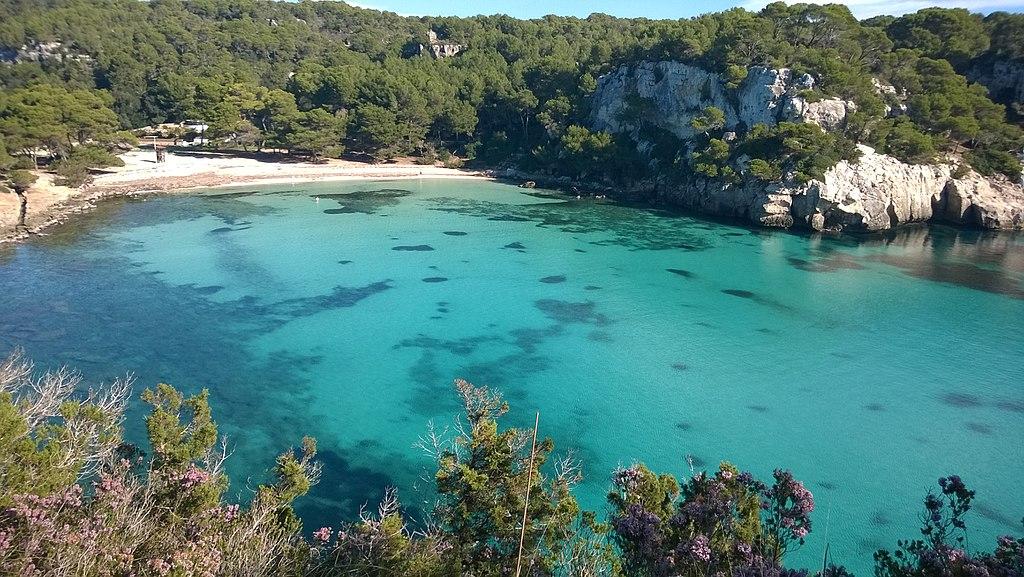 Cala Macarella - las mejores playas de España