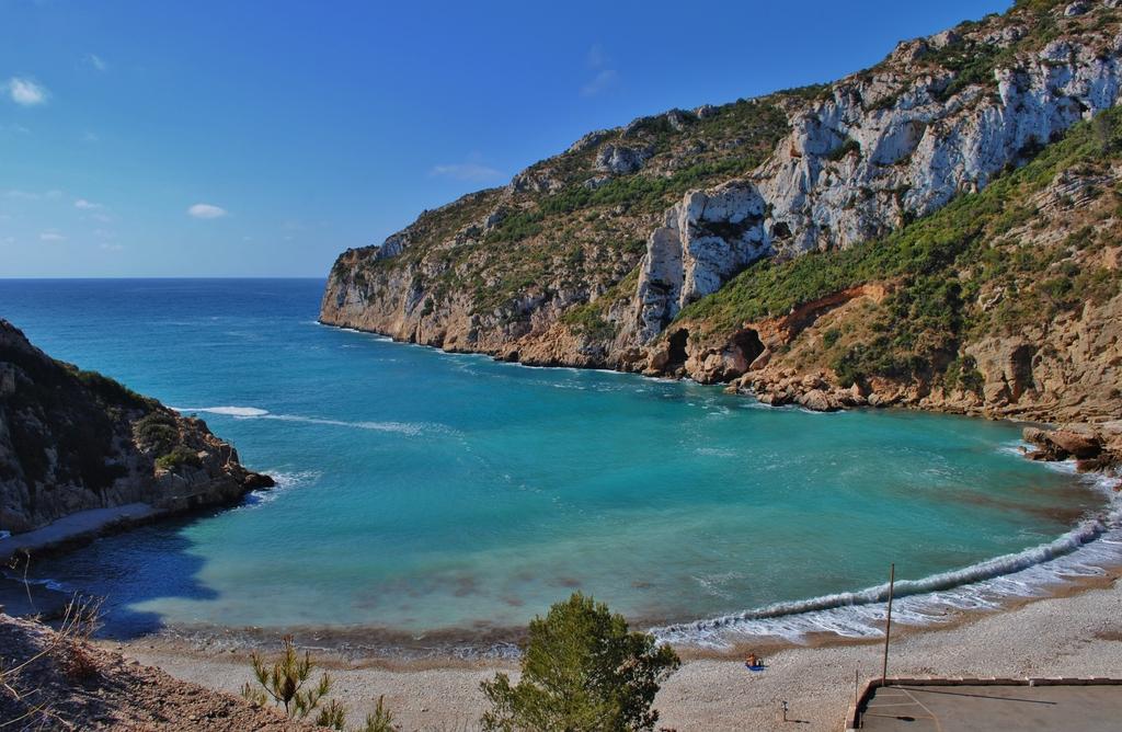 cala granadella, alicante, las mejores playas de españa