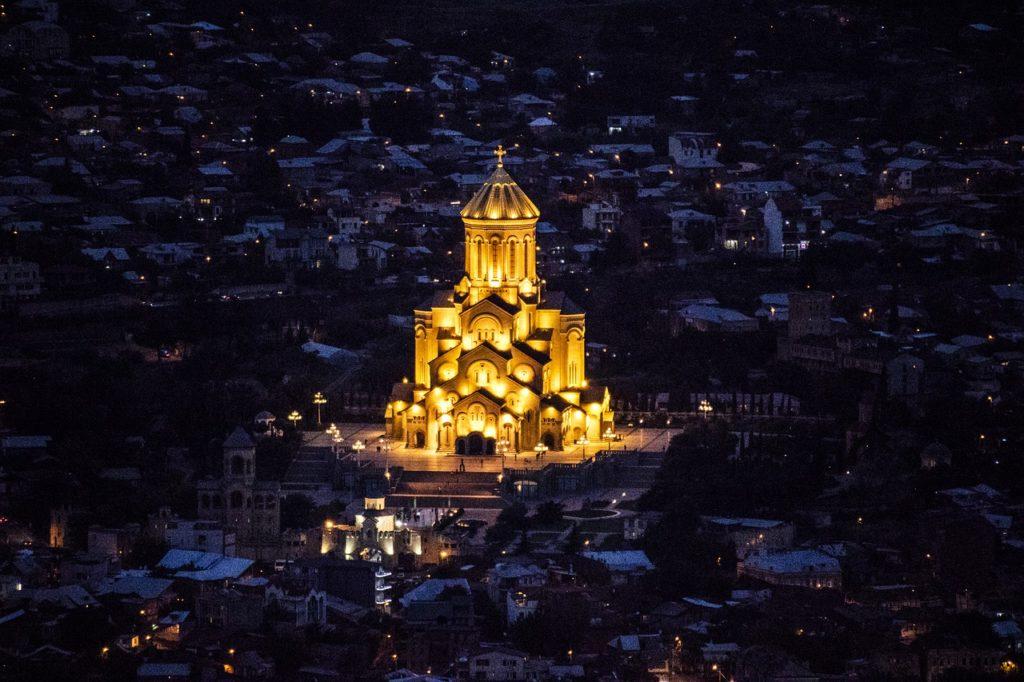 catedral de la santisima trinidad, tbilisi, georgia