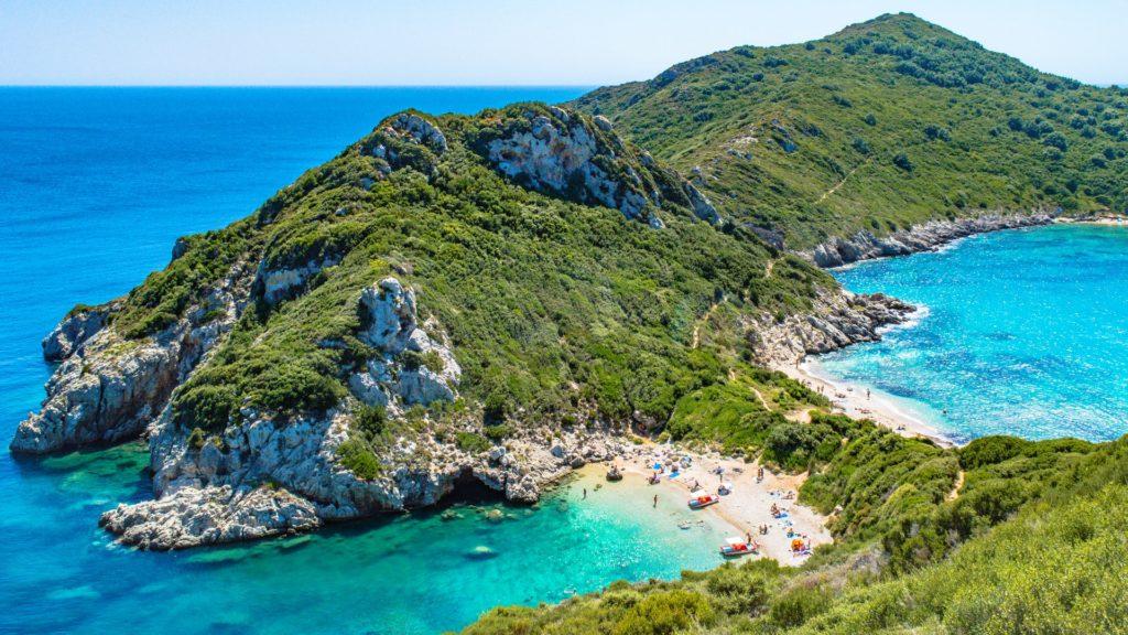 corfú - grecia; uno de los paises europeos mas seguros para verano 2020