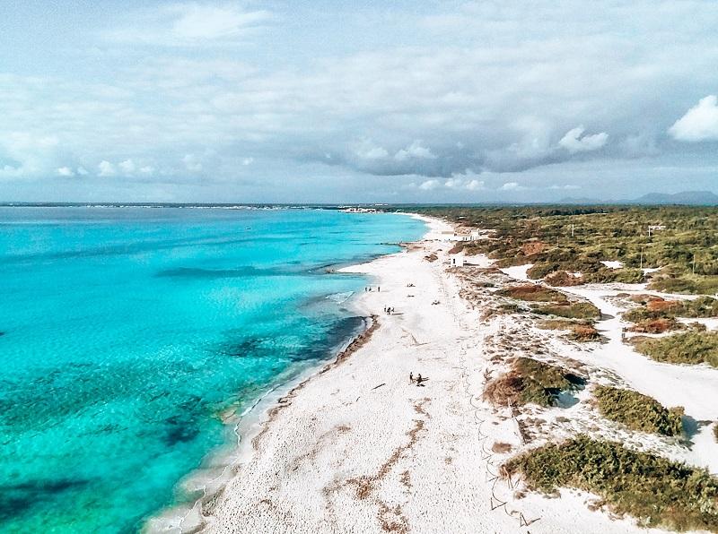 es trenc, mallorca. las mejores playas de españa
