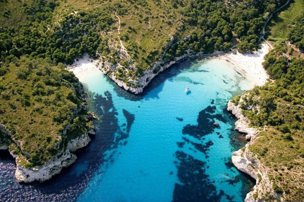 Cala Macarella y Macarelleta, Menorca, playas paradisiacas en España