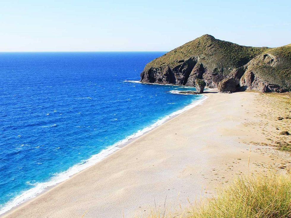 playa de los muertos, almeria, las mejores playas de España
