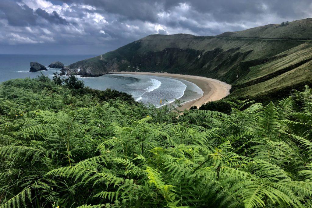 playa torimbia, llanes, asturias