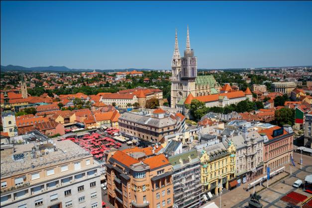 zagreb, croacia; uno de los paises europeos mas seguros para verano 2020