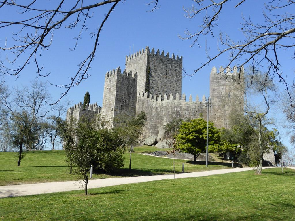 Castillo, Guimarães, Portugal - que ver en el norte de Portugal