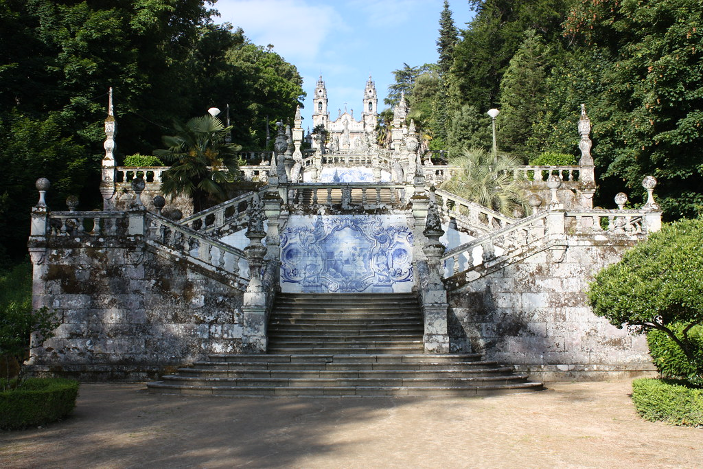Santuario de Nuestra Señora de los Remedios, Lamego, Portugal
