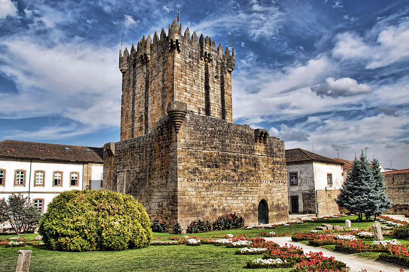 Chaves - Castelo de Chaves, Portugal