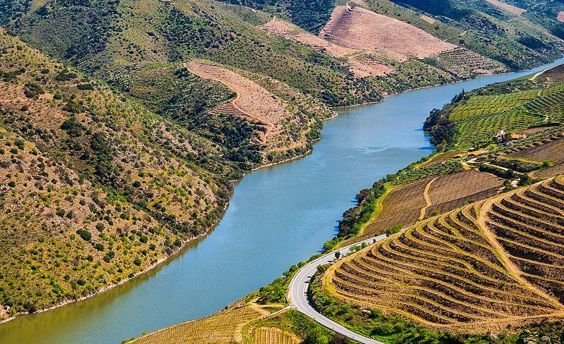 Foz Côa, río Douro, Portugal