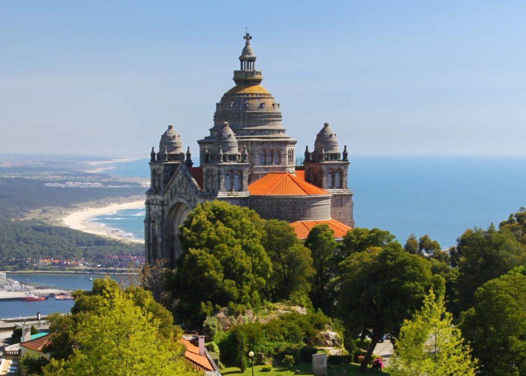Basílica de Santa Luzia, Viana do Castelo, Portugal - que ver en el norte de Portugal
