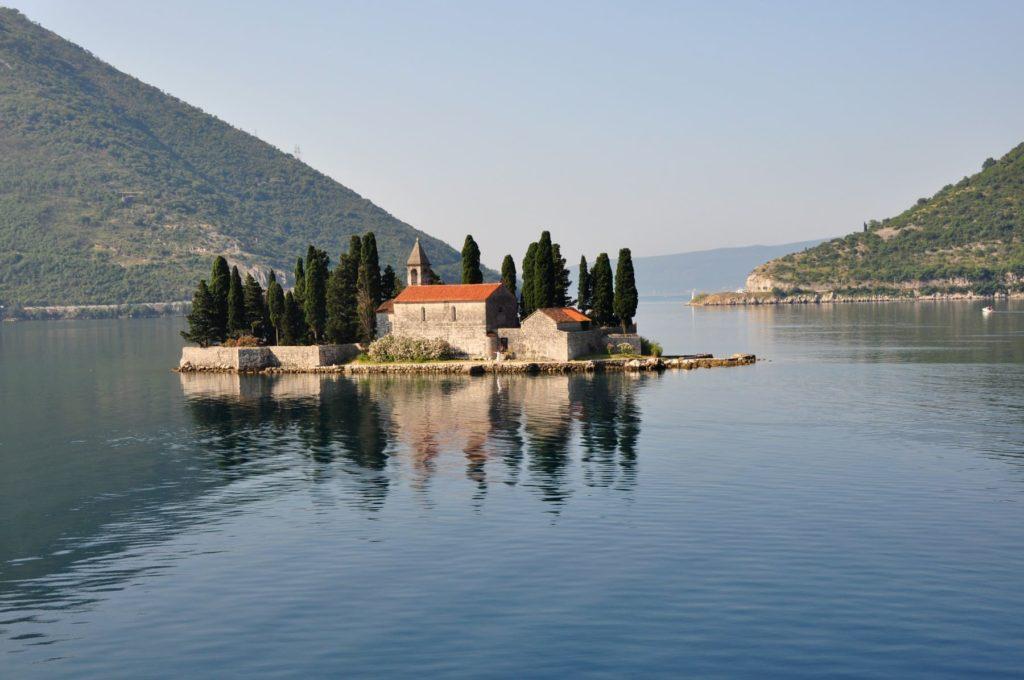 Isla de San Jorge - La Bahía de Kotor, Montenegro