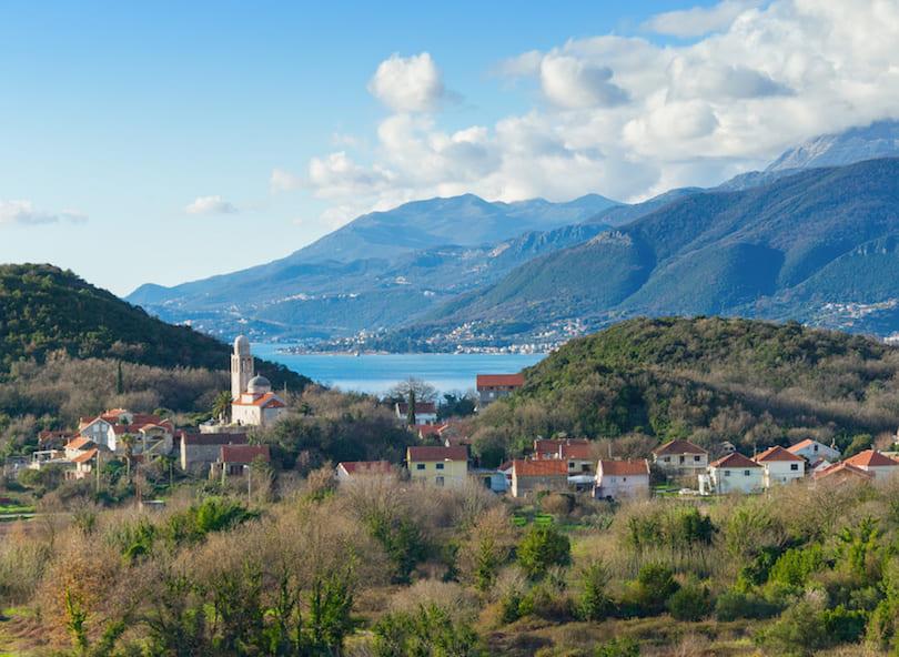 Peninsula Lustica, Boka Kotorska, Montenegro